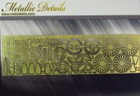 Detailing set for aircraft model Airbus A300 Beluga photo-etched