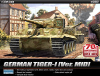 "Немецкий танк  TIGER-I MID VER. ""Anniv.70 Normandy Invasion 1944""  (1:35)"