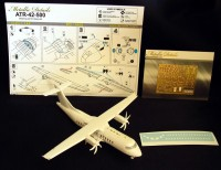 Detailing set for aircraft model ATR 42-500 photo-etched
