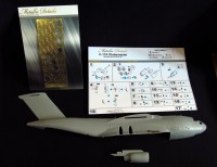 Detailing set for aircraft model C-17A Globemaster (Revell) photo-etched