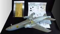 Detailing set for aircraft model L-1011 Tristar photo-etched