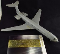 Detailing set for aircraft model Vickers VC10 (Roden) photo-etched