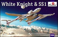 White Knight & SpaceShipOne 1/72 Amodel
