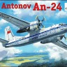 An-24 civil aicraft 1/72