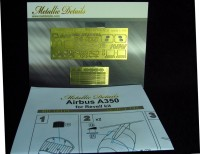 Detailing set for aircraft model Airbus A350 (Revell) photo-etched