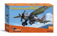 Westland Lysander Mk.III military aircraft kit 1/72