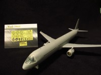 Detailing set for aircraft model Airbus A321 (Zvezda) photo-etched
