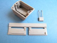 E. E. Canberra  nose wheel bay for Airfix