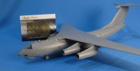 Detailing set for aircraft model Il-76 (Zvezda) photo-etched