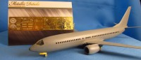 Detailing set for aircraft model Boeing 737 MAX (Zvezda) photo-etched