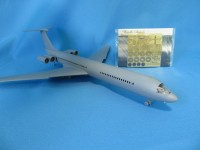 Detailing set for aircraft model Il-62 (Zvezda) photo-etched