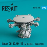 Rotor CH-53 Super Stallion, MH-53E Sea dragon (1/72)