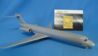 Detailing set for aircraft model MD-87 (AMP) photo-etched