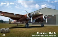 Fokker G-1 recon plasic model kit