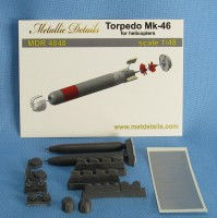Torpedo Mk-46 for helicopters detailing set