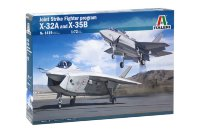 X-32 and  X-35 B JSF PROGRAM plastic model kit