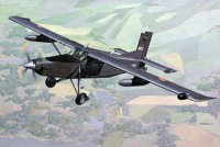 Pilatus PC-6/B2-H4 Turbo Porter самолет-патруль