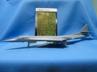 Detailing set for aircraft Tu-160 (Zvezda) photo-etched