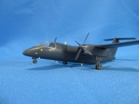Detailing set for aircraft model DHC-8-106 Dash 8 (AMP) photo-etched