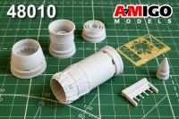 MiG-27,Mig-27K/M, MiG-23BN engine exhaust nozzle for Trumpeter plastic-model-kit