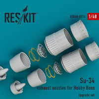 Su-34 exhaust nozzles for Hobby Boss 1/48