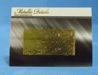 Detailing set for aircraft model Be-200 (Zvezda) photo-etched