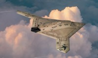X-47B strike drone plastic model kit