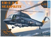 UH-2A/B Seasprite helicopter plastic kit