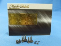 Detailing set for aircraft model He 111 (Roden) photo-etched