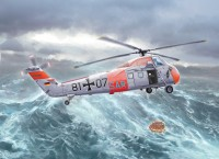 H-34 G.III/UH-34J rescue helicopter plastic model kit