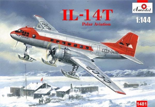 IL-14T Ilyushin  Polar Aviation