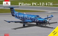 Pilatus PC12/47E  HB-FWA plastic kit
