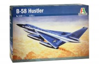 B-58 Hustler startegic bomber plastic model kit