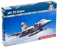 JAS 39  GRIPEN fighter plastic model kit