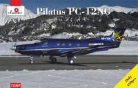 Pilatus PC12NG HB-FVD aircraft kit