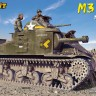 M3 LEE MID tank plastic model with interior