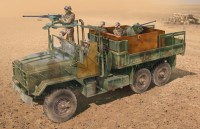 U.S.  ARMOURED GUN  TRUCK plastic model