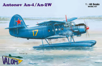 Antonov An-2/ An-2W (floats) Russian and Polish marking