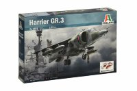 HARRIER GR.3 deck attack aircraf plastic model