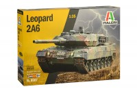 LEOPARD  2A6 tank plastic model kit