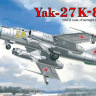 Yak-27K-8 Interceptor fighter plastic model