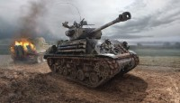 M4A3E8  SHERMAN  FURY