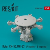 Rotor CH-53 Super Stallion, MH-53E Sea dragon 1/48