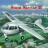 Stout Skycar II plastic model kit