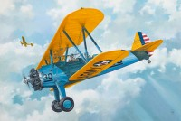 PT-17 Kaydet Boeing-Stearman aircraft kit 1/32
