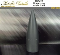 MiG-23 Nose cone for Trumpeter plastic model