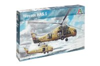 Wessex HAS.1 helicopter plastic model kit