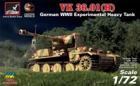 VK 36.01(H) German WWII Experimental Heavy Tank 1/72