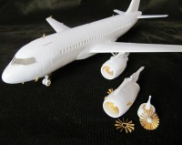 Detailing set for aircraft Airbus A319 (Revell) photo-etched